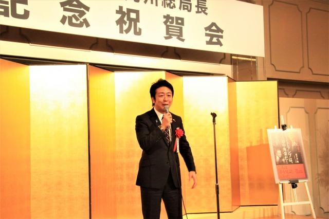 福岡市長の高島宗一郎氏